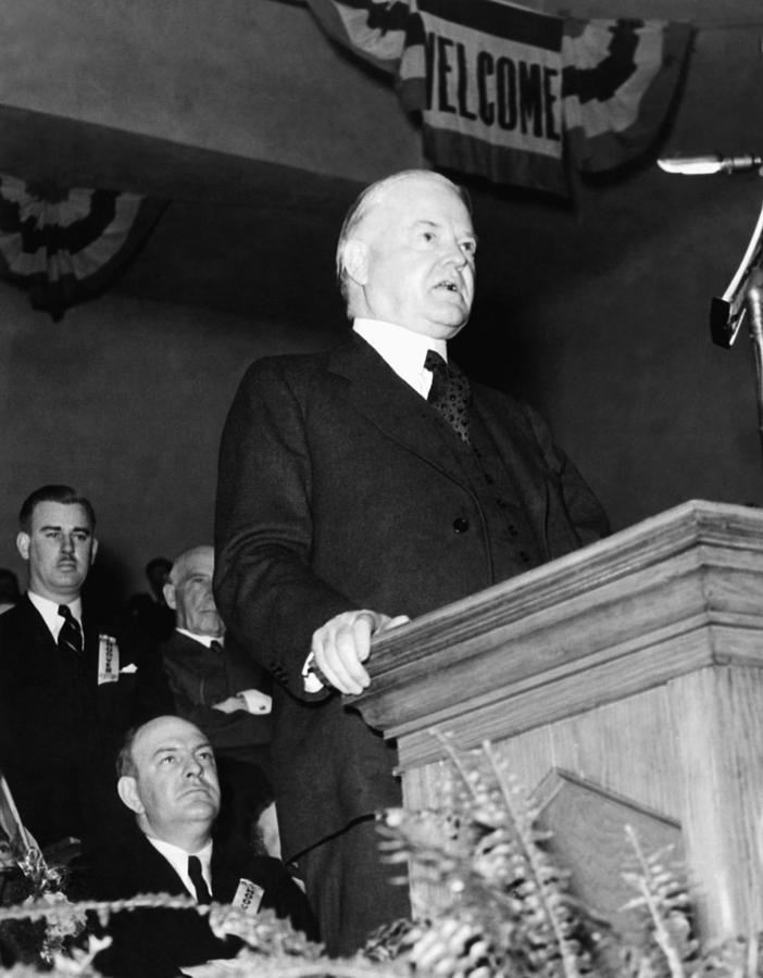 Former President Herbert Hoover Photograph