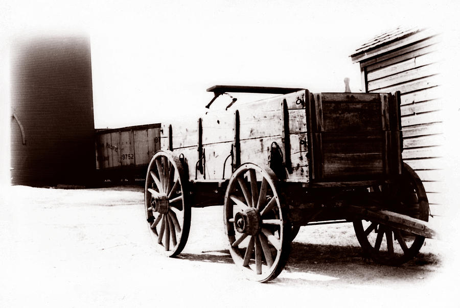 Country Photograph - 1900 Wagon by Marcin and Dawid Witukiewicz