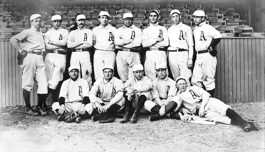 1902 Philadelphia Athletics Photograph - 1902 Philadelphia Athletics by Bill Cannon