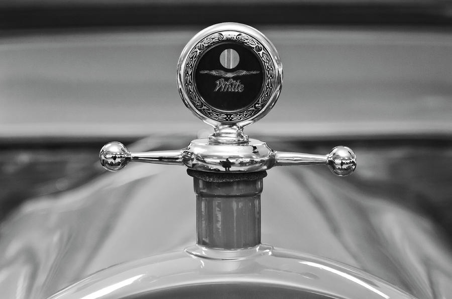 1913 White Gentlemanss Roadster Hood Ornament 2 Photograph