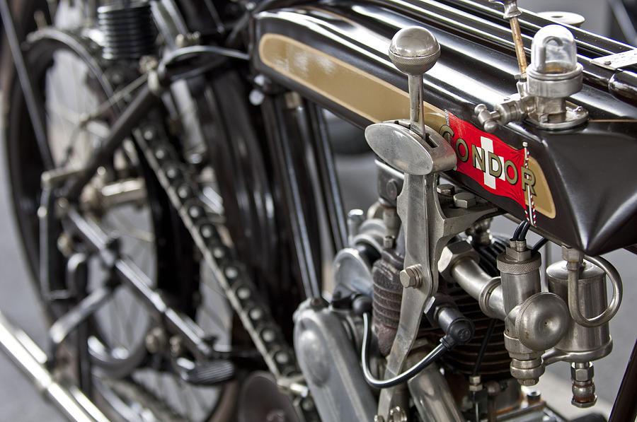 1923 Condor Motorcycle Photograph