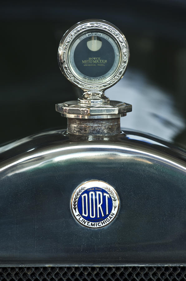 1923 Dort Sport Hood Ornament Photograph