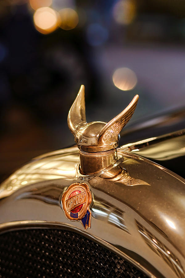 1924 Chrysler B-70 Phaeton Hood Ornament Photograph  - 1924 Chrysler B-70 Phaeton Hood Ornament Fine Art Print