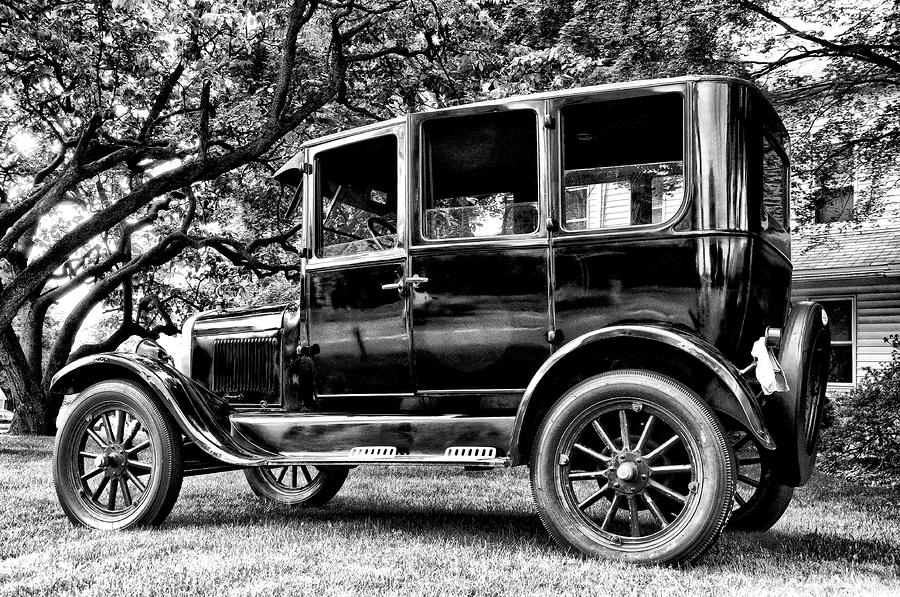 1926 Ford Model T Photograph  - 1926 Ford Model T Fine Art Print