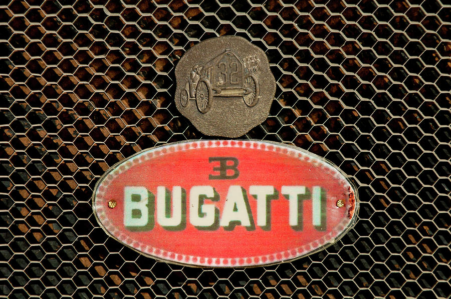 1927 Bugatti Replica Hood Ornament 2 Photograph  - 1927 Bugatti Replica Hood Ornament 2 Fine Art Print