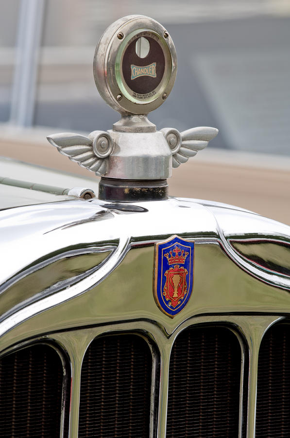 1927 Chandler Hood Ornament - Motometer Photograph