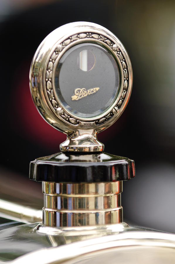 1927 Pierce-arrow Limousine Motometer Hood Ornament Photograph