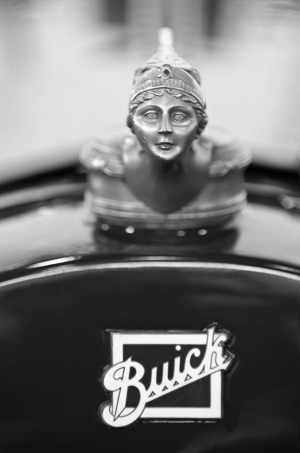 1928 Buick Custom Speedster Hood Ornament 4 Photograph