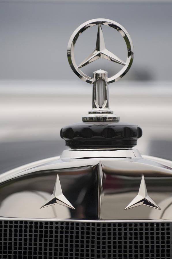 1928 mercedes benz s murphy speedster hood ornament for Mercedes benz ornaments