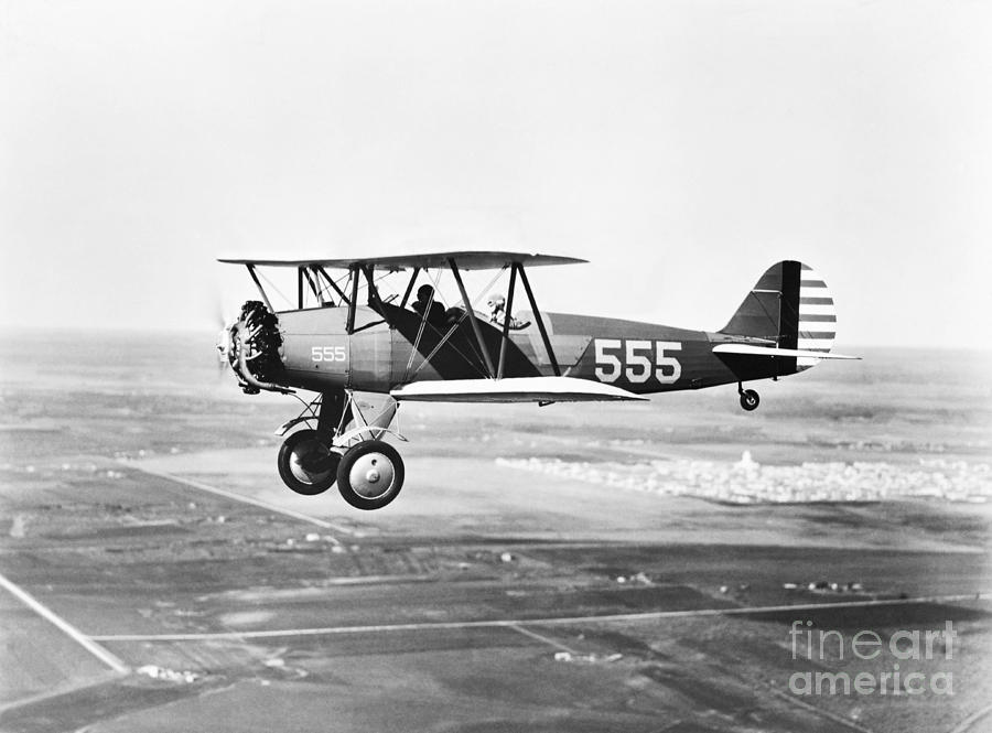 1930s Pilot Training Photograph