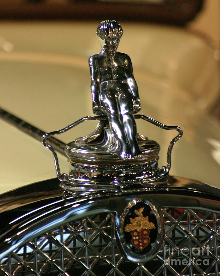 1931 Packard Hood Ornament Photograph