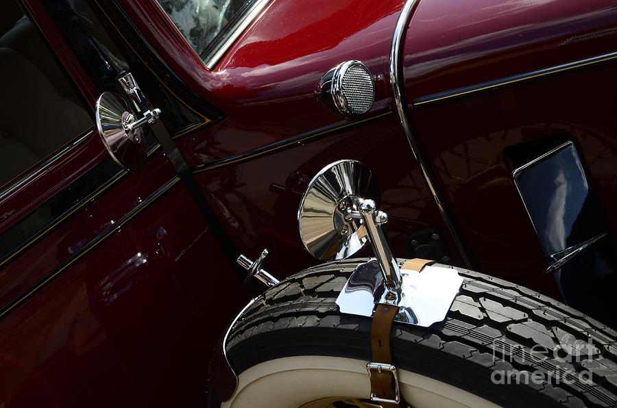 1932 Chevrolet Detail Photograph