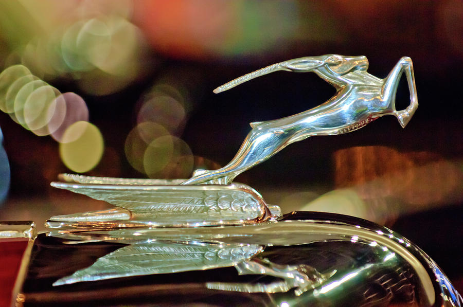 1932 Chrysler Imperial Hood Ornament 1 Photograph