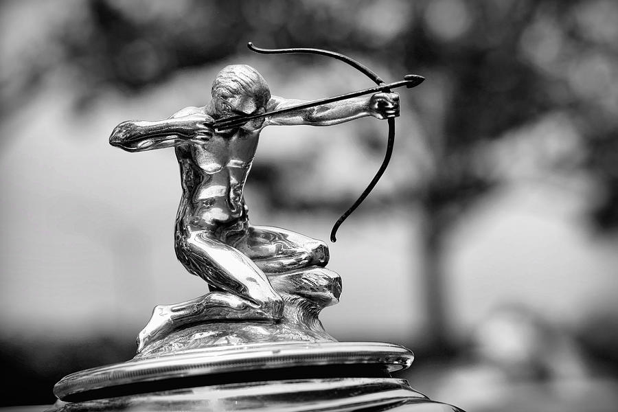 1932 Pierce Arrow Hood Ornament Photograph