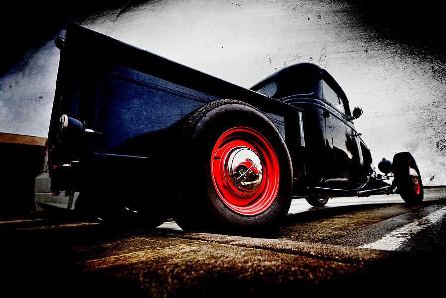 Ford Pickup Photograph - 1934 Ford Pickup by Phil motography Clark