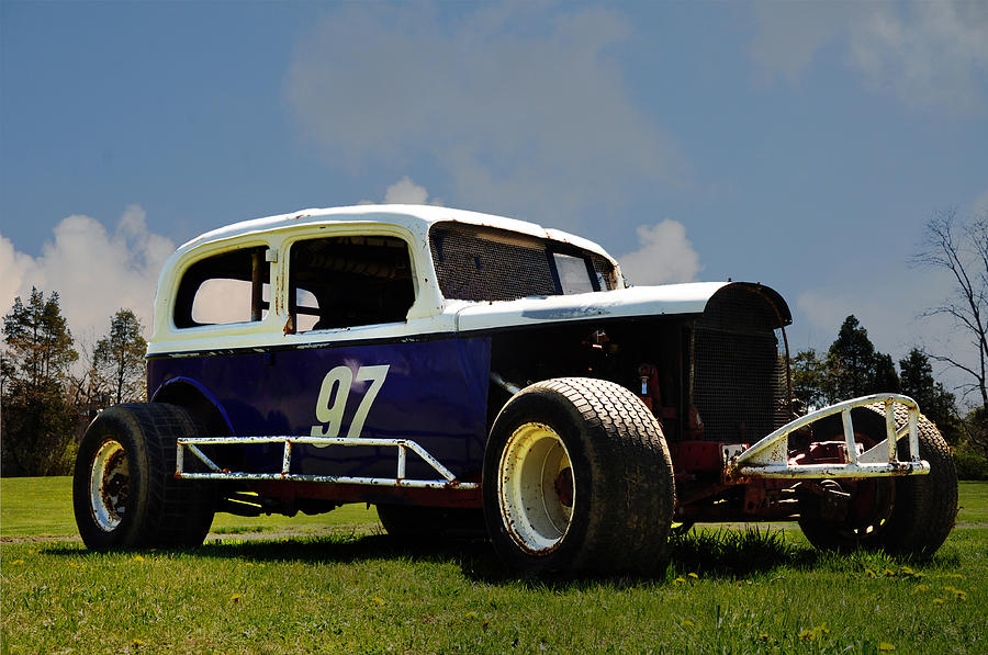 1934 Ford Stock Car Photograph  - 1934 Ford Stock Car Fine Art Print