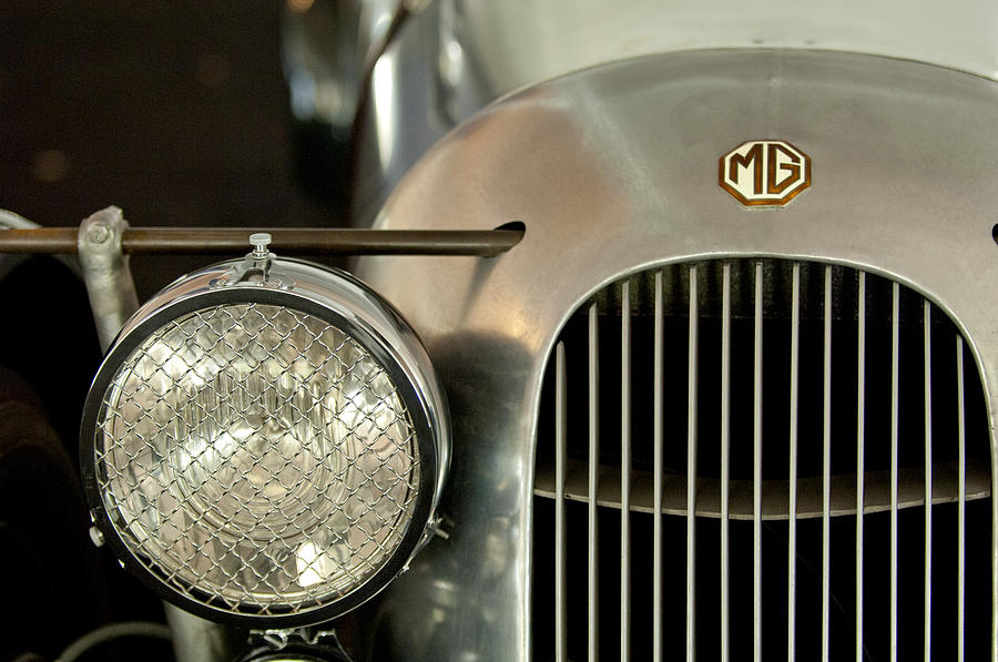 1934 Mg Pa Midget Supercharged Special Speedster Grille Photograph