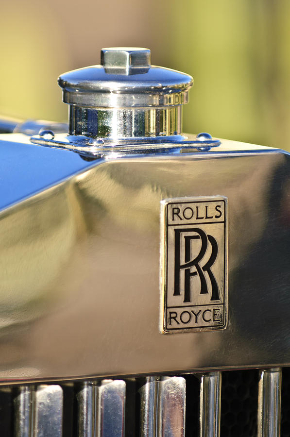 1935 Rolls-royce Phantom II Hood Ornament Photograph