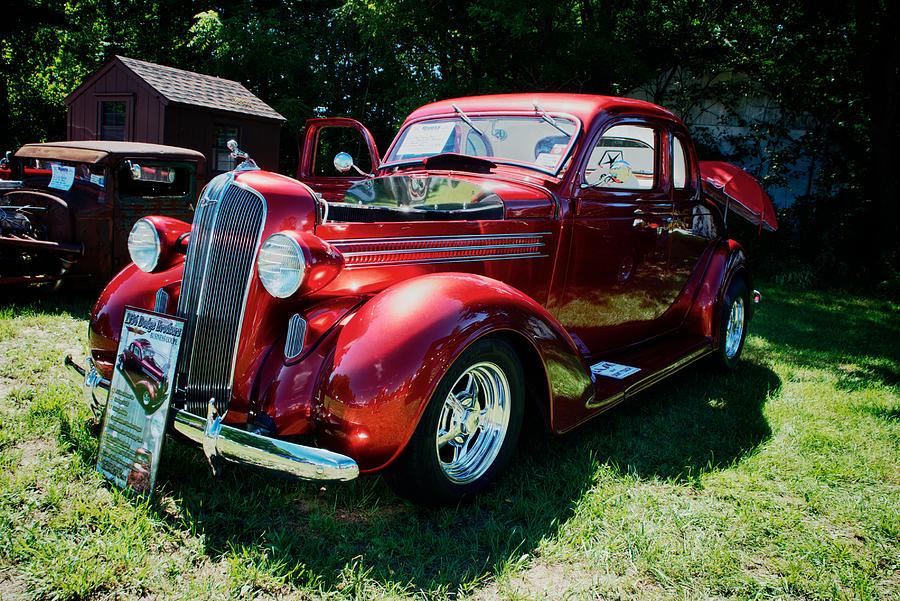 1936 Dodge Pyrography