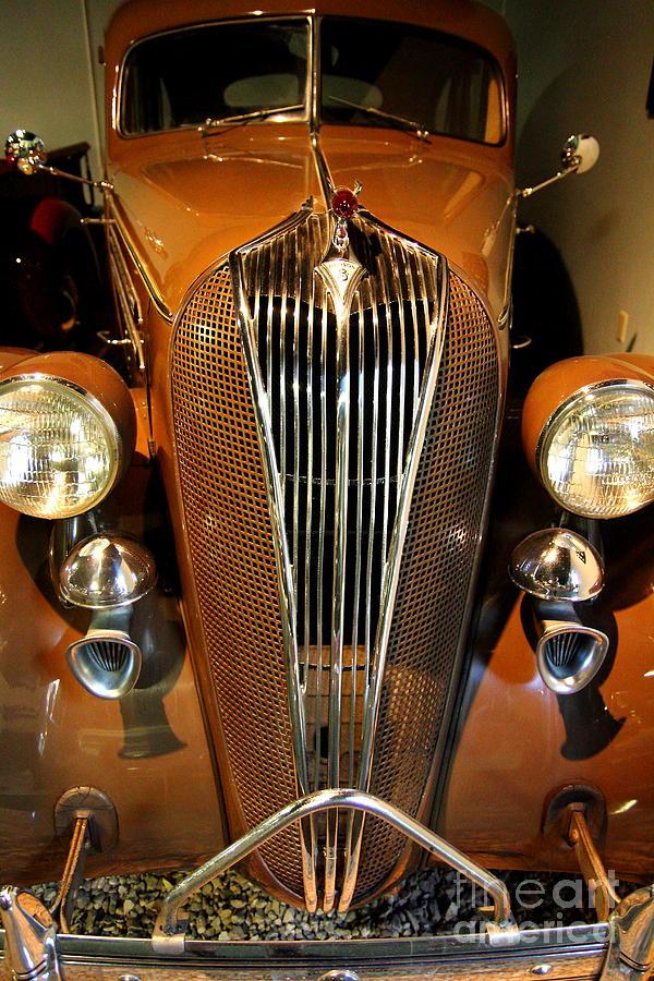 1936 Hudson 64 De Luxe 8 Sedan Photograph