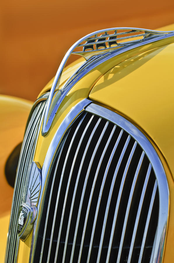 1937 Plymouth Hood Ornament 2 Photograph