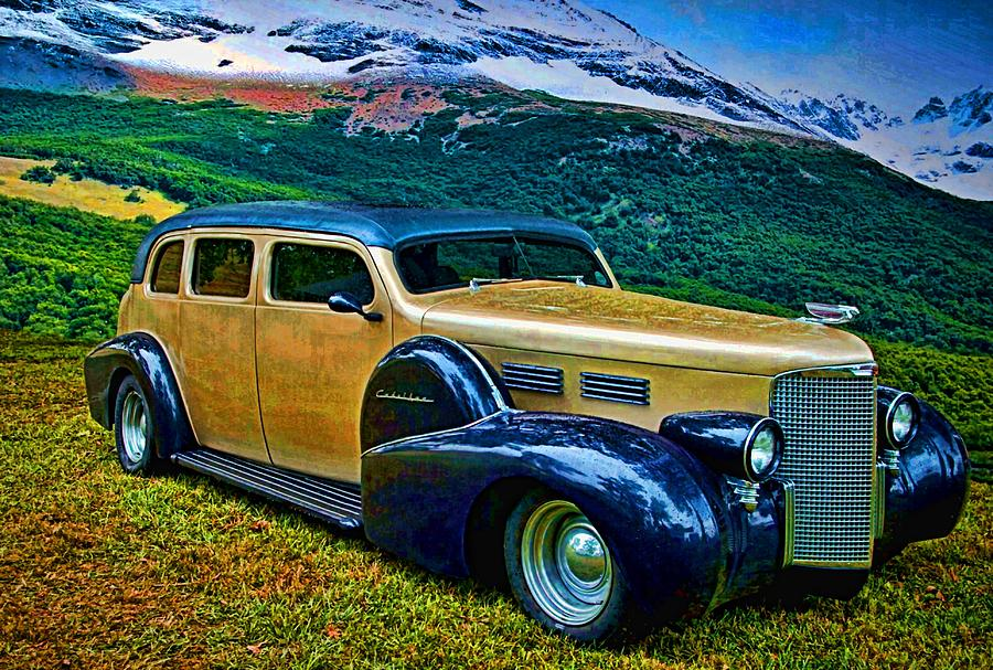 1938 Cadillac Touring Car Photograph By Tim Mccullough