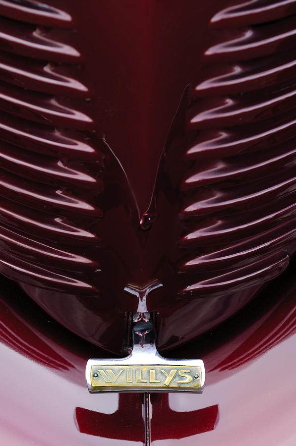 1938 Willys Grille Photograph