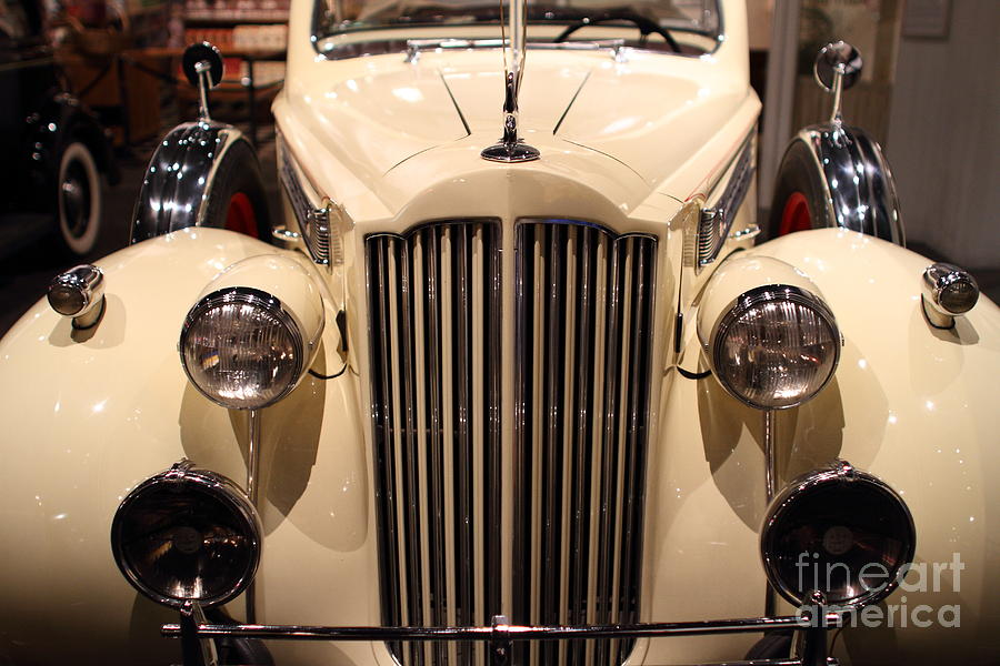 1939 Packard Super Eight Phaeton - 7d17407 Photograph