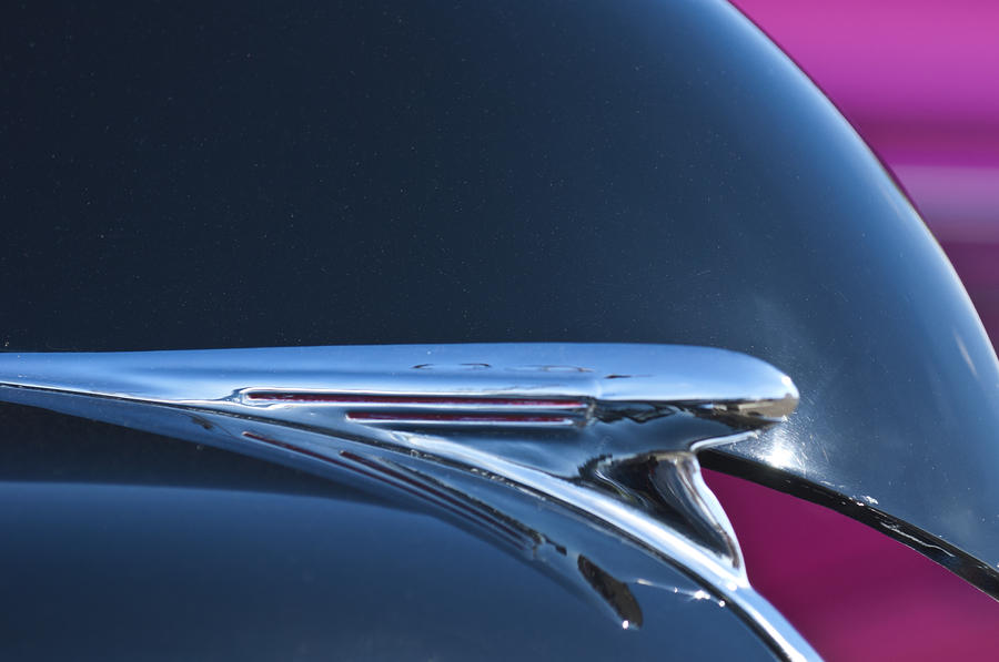 1940 Chevrolet Pickup Hood Ornament Photograph