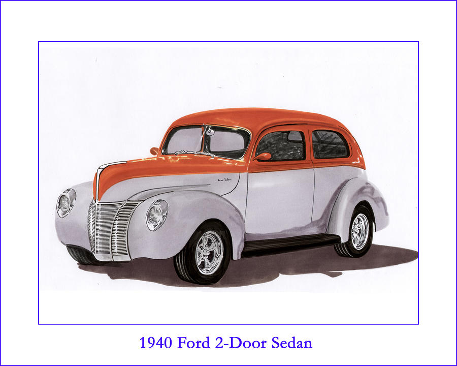 1940 Ford Drawings