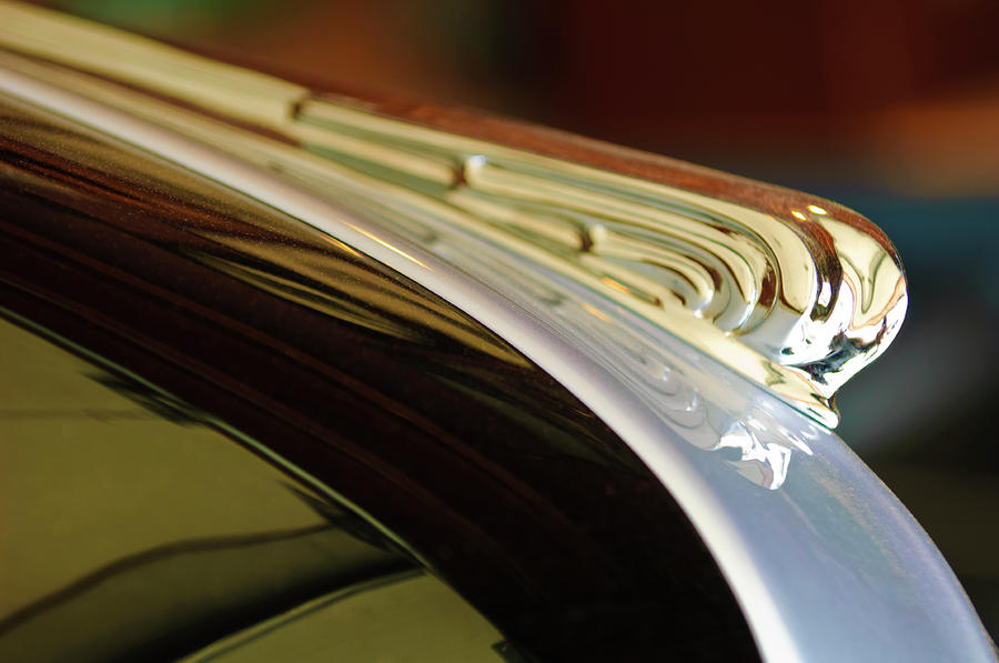1941 Buick Eight Hood Ornament Photograph