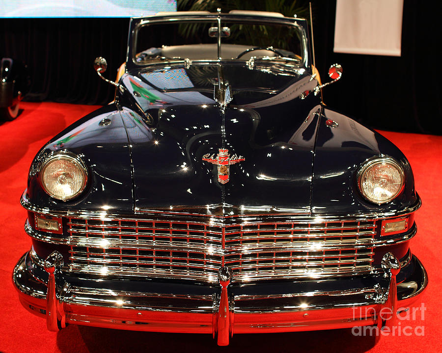 1941 Cadillac Series 62 Convertible Coupe . Front View Photograph