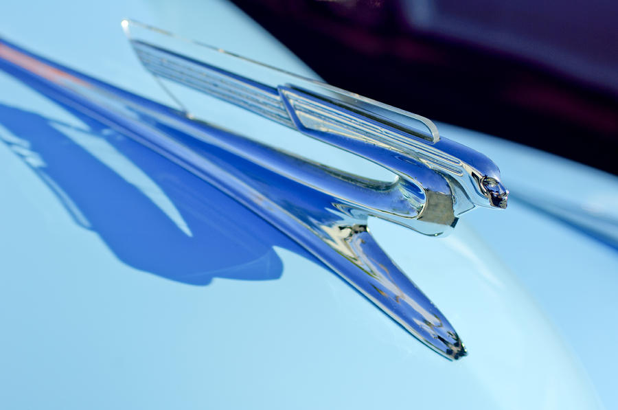 1941 Chevrolet Hood Ornament Photograph