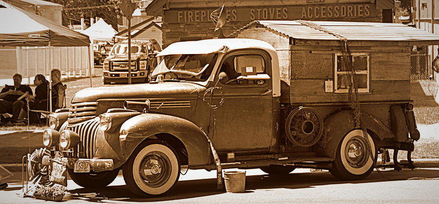 Graff Chevy >> 1941 Chevy Pickup - Redneck Style Photograph by Tam Graff