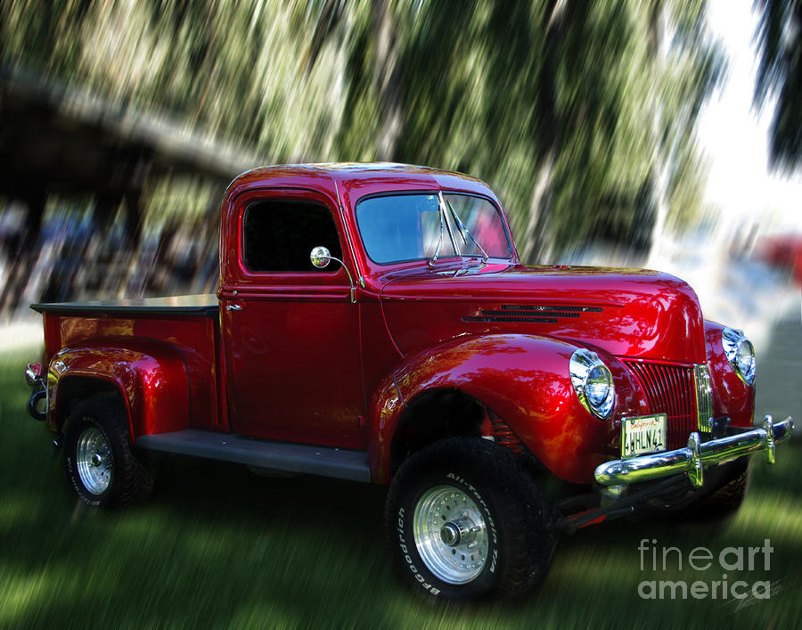 1941 Ford Truck Photograph