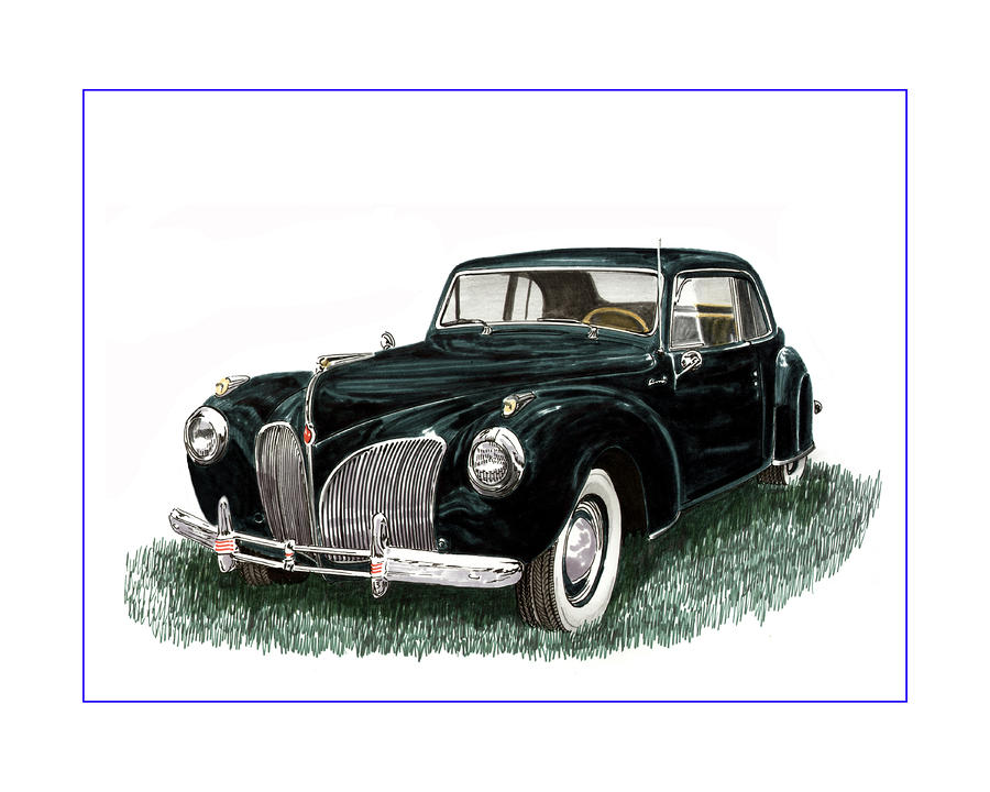 1941 Lincoln Continental Mk 1 Painting