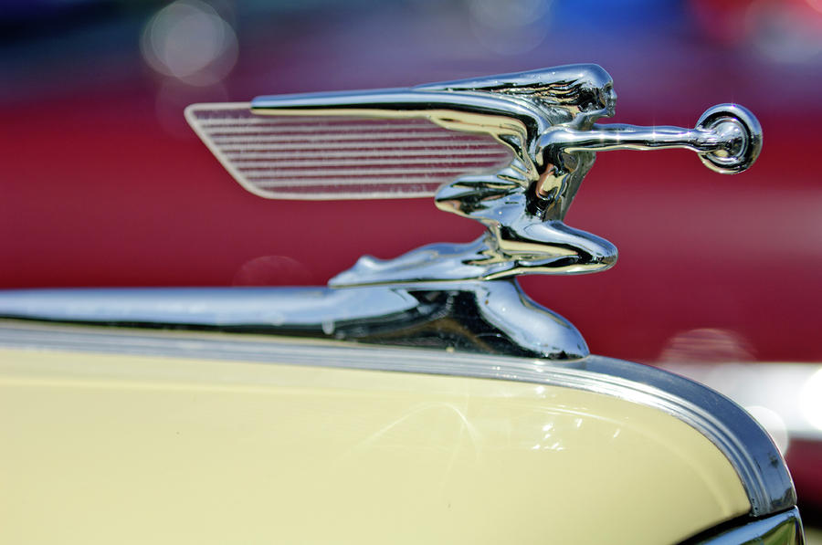 1941 Packard Hood Ornament 3 Photograph