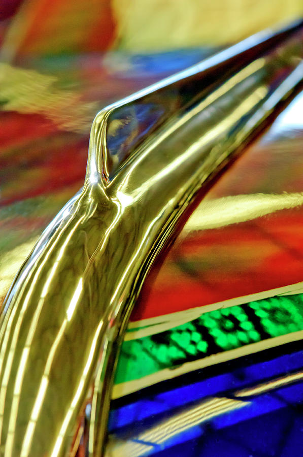 1941 Willys Chopped Gasser Pickup Hood Ornament Photograph