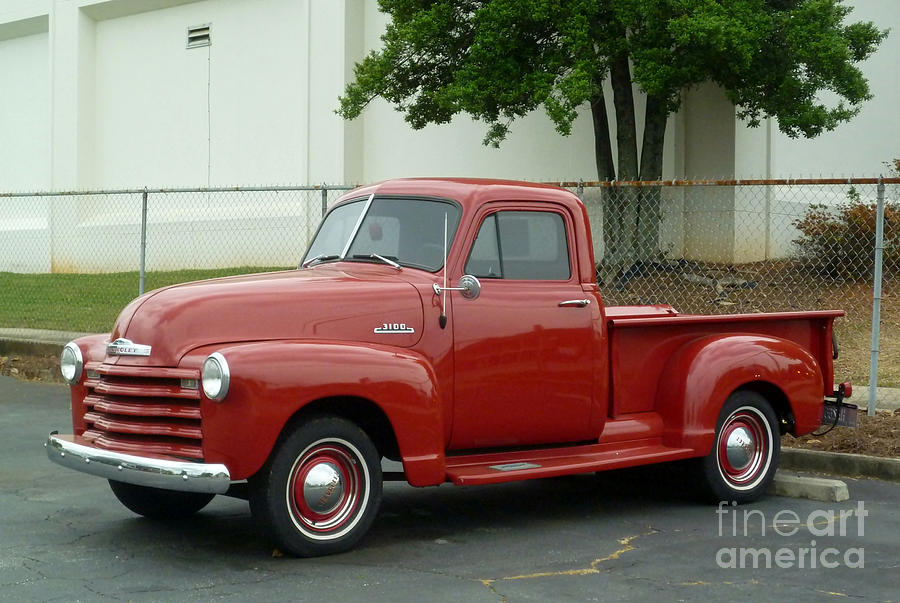 1947 chevrolet pickup truck is a photograph by renee trenholm which
