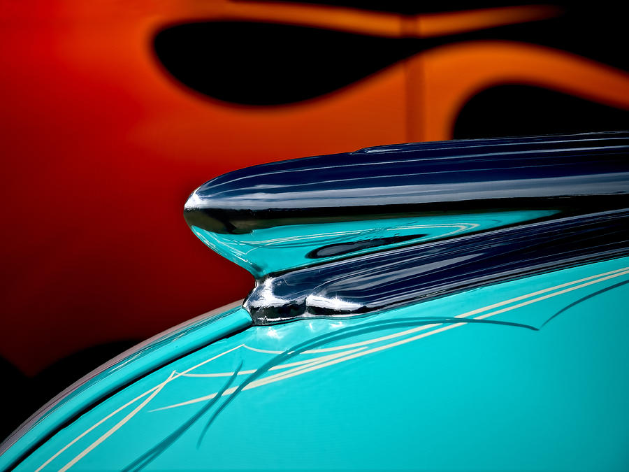1948 Chevy Hood Ornament Photograph  - 1948 Chevy Hood Ornament Fine Art Print