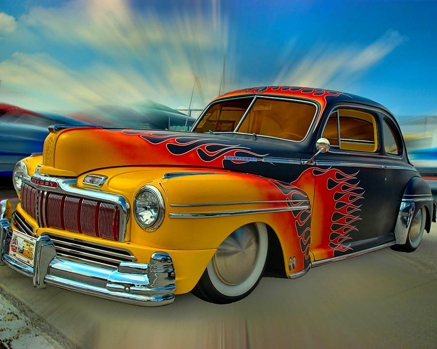 1948 Mercury Low Rider Coupe Photograph  - 1948 Mercury Low Rider Coupe Fine Art Print