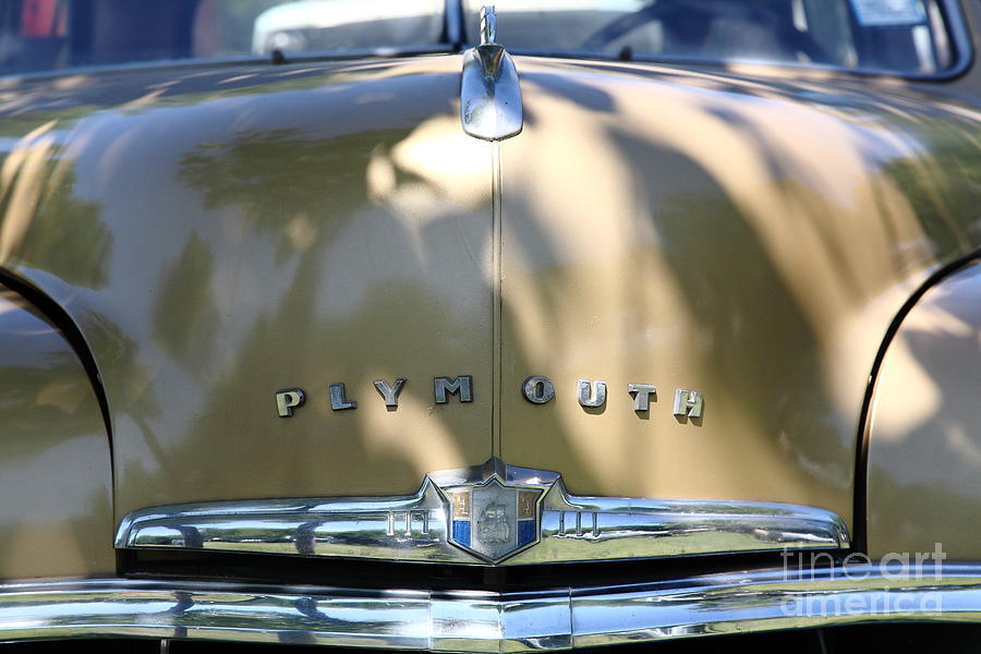 1949 Plymouth Delux Sedan . 5d16206 Photograph  - 1949 Plymouth Delux Sedan . 5d16206 Fine Art Print
