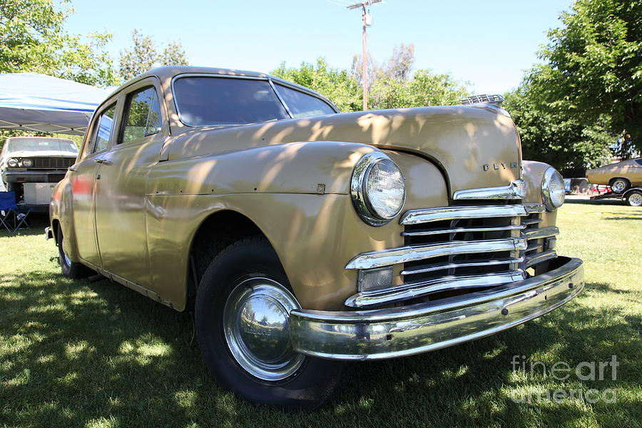 1949 Plymouth Delux Sedan . 5d16207 Photograph