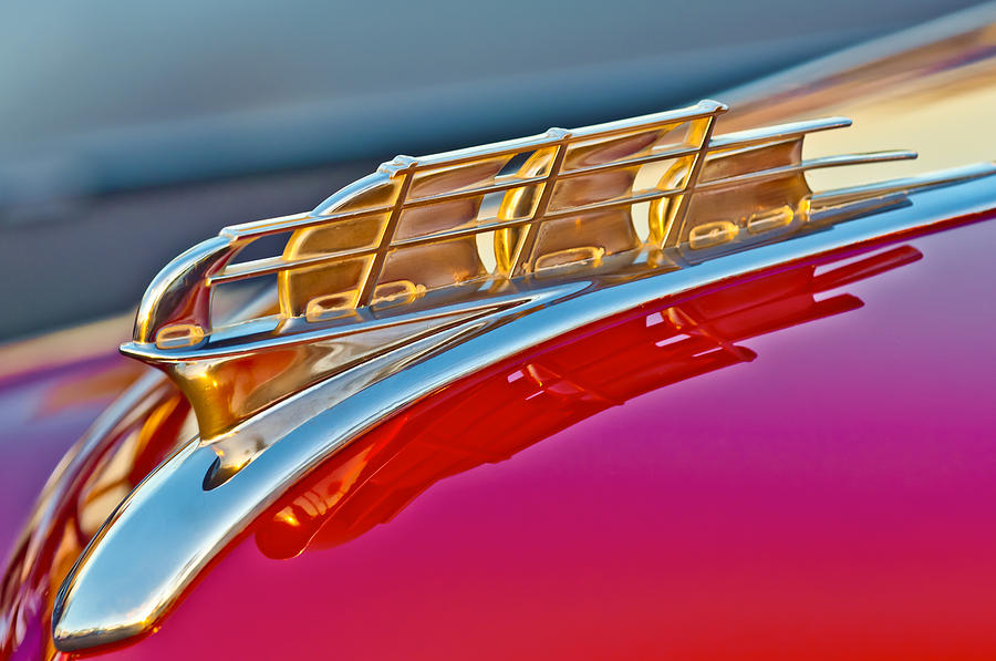 1949 Plymouth Hood Ornament Photograph