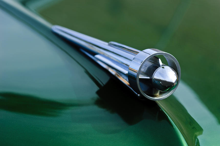 1949 Studebaker Champion Hood Ornament 2 Photograph