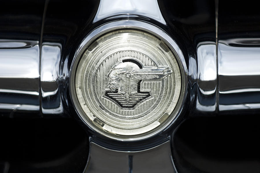 1950 Pontiac Grille Emblem 2 Photograph