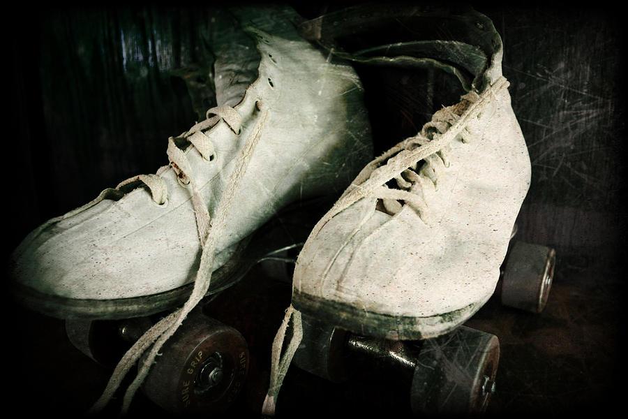 Roller Skate Photograph - 1950s Roller Skates by Michelle Calkins