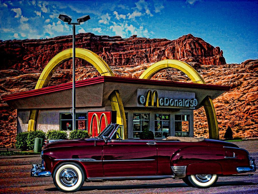 1951 Chevrolet Convertible Photograph