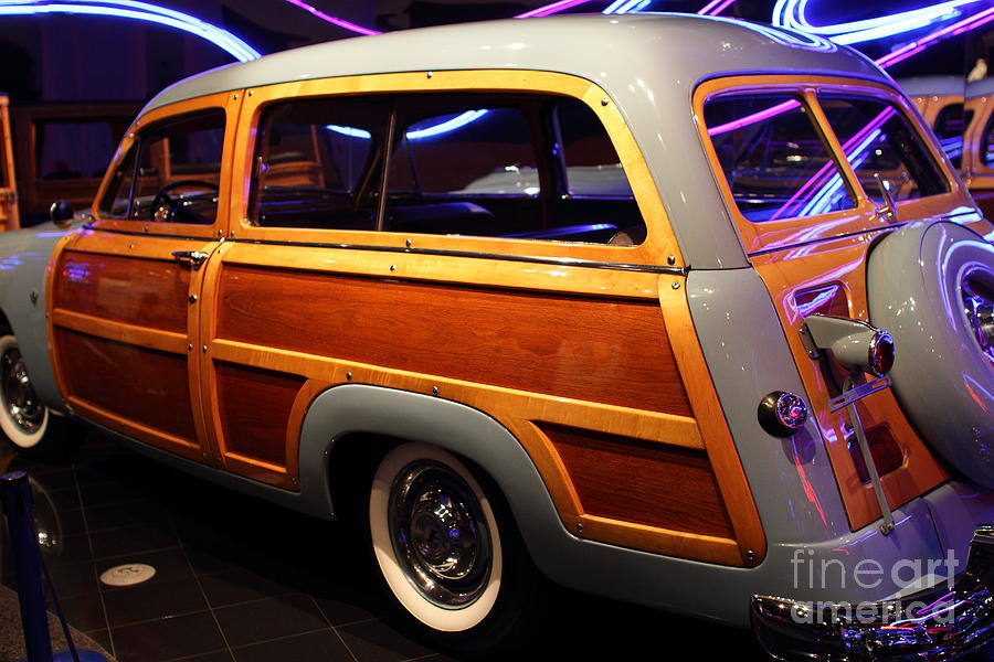 1951 Ford Country Squire - 7d17485 Photograph  - 1951 Ford Country Squire - 7d17485 Fine Art Print