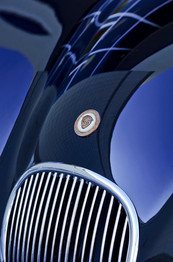 1951 Jaguar Proteus C-type Grille Emblem 4 Photograph